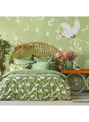Bella Maison Jazmin Çift Kişilik Nevresim Yeşil